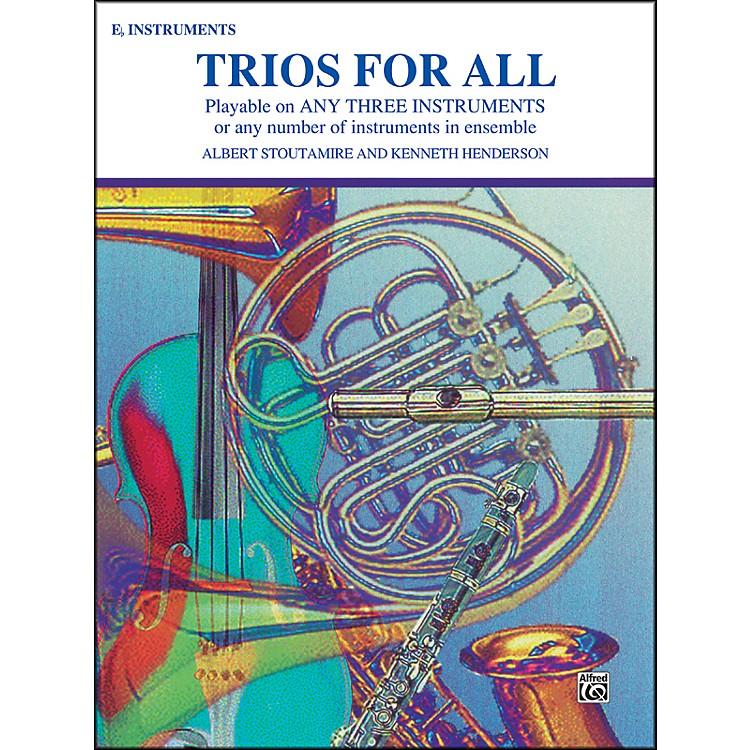 AlfredTrios for All Alto Saxophone (E-Flat Saxes & E-Flat Clarinets)