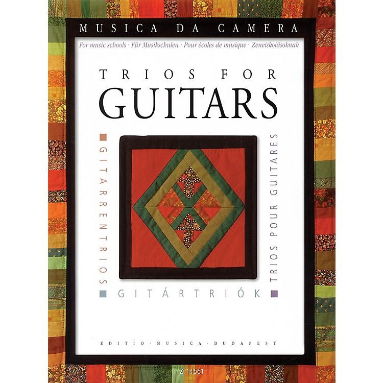 Editio Musica BudapestTrios for Guitars (for Music Schools) EMB Series