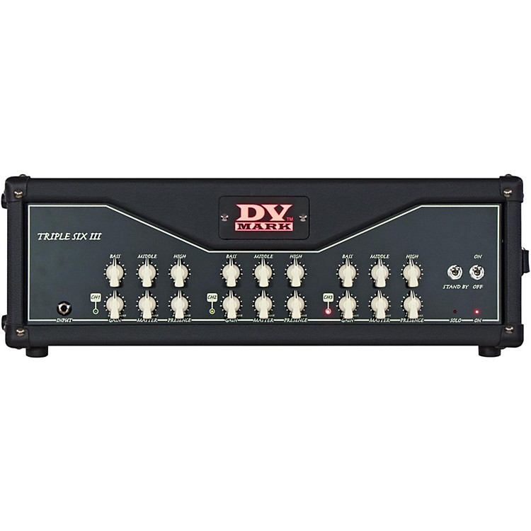DV Mark Triple 6 III 120W All-Tube Guitar Head  888365941691