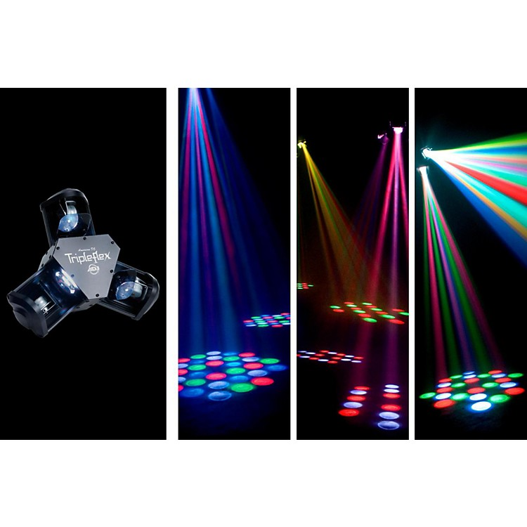 American DJ Tripleflex - LED Centerpiece with 3 Scanning Heads