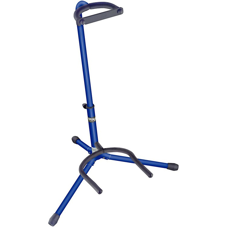 Stagg Tripod Guitar Stand Blue