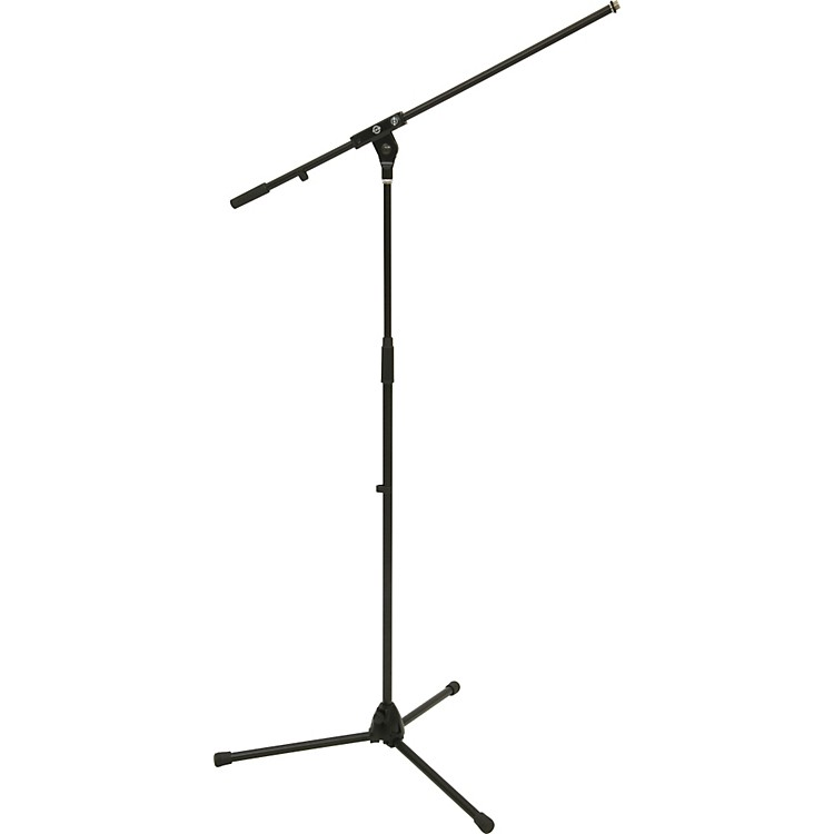 K&MTripod Microphone Stand with Boom ArmBlack