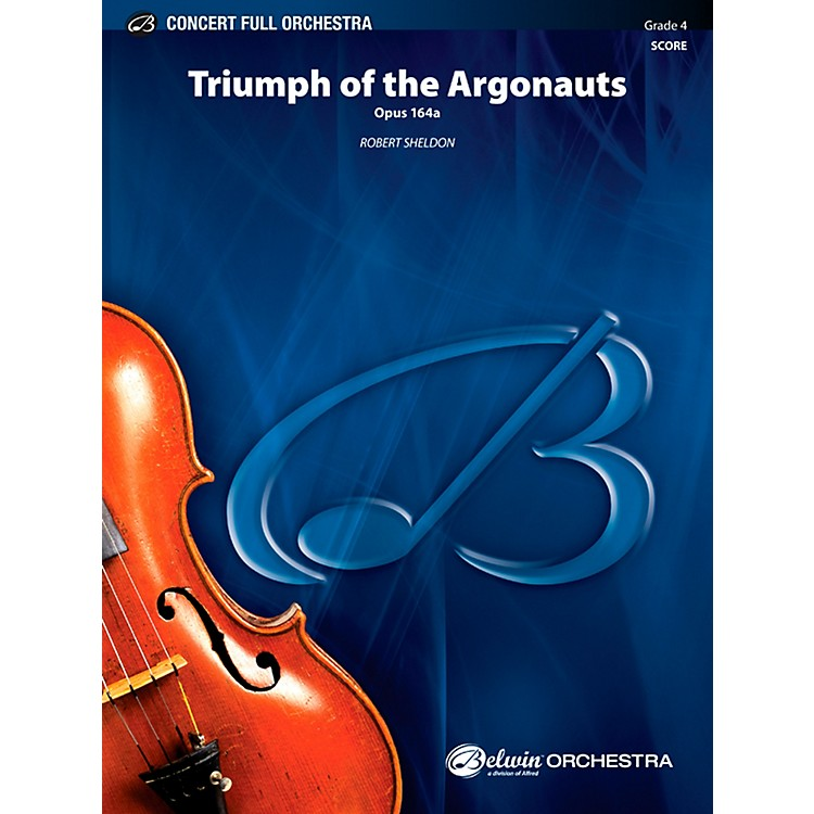 AlfredTriumph of the Argonauts Concert Full Orchestra Grade 4 Set