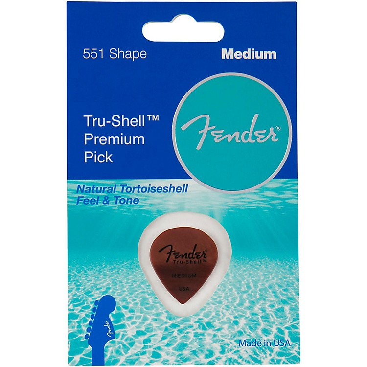 Fender Tru-Shell 551 Guitar Pick Heavy 1