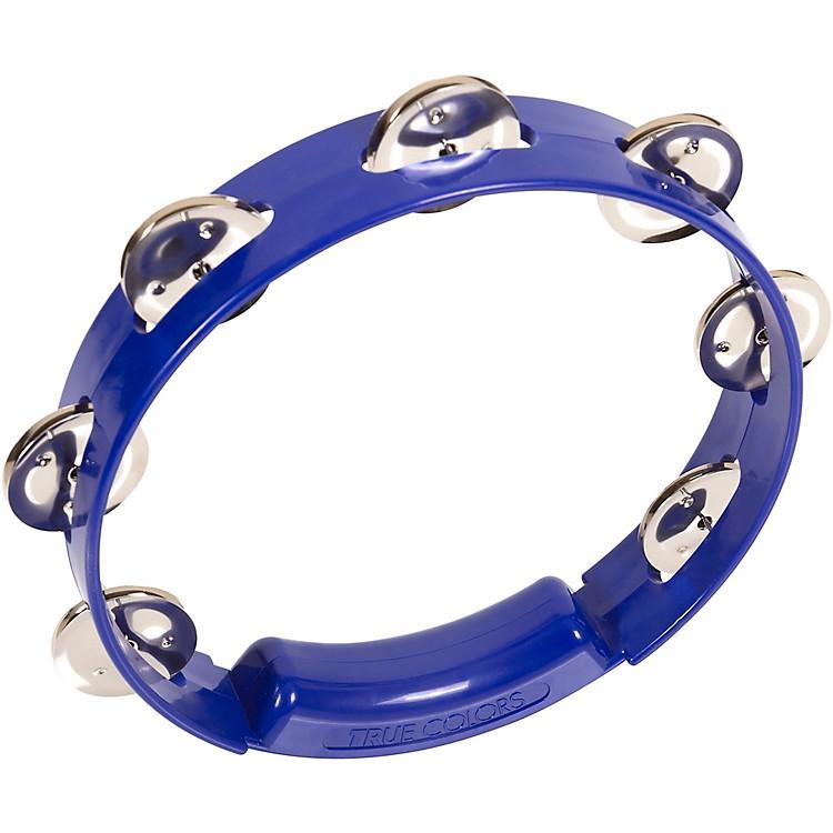 RhythmTechTrue Colors TambourineCobalt Blue8 in.