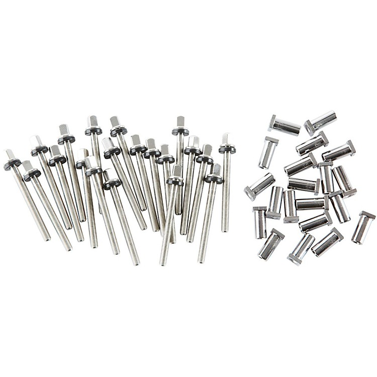 DW True Pitch Snare Drum Tension Rods (20-pack) 6.5 Inch Deep Drum