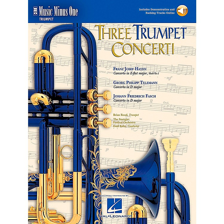 Hal LeonardTrumpet Concerti, Haydn, Telemann, Fasch