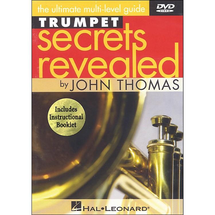 Hal LeonardTrumpet Secrets Revealed DVD Featuring John Thomas