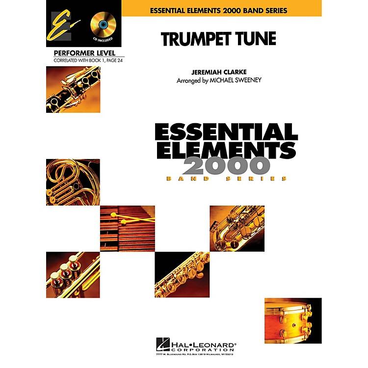 Hal LeonardTrumpet Tune (Includes Full Performance CD) Concert Band Level .5 to 1 Arranged by Michael Sweeney