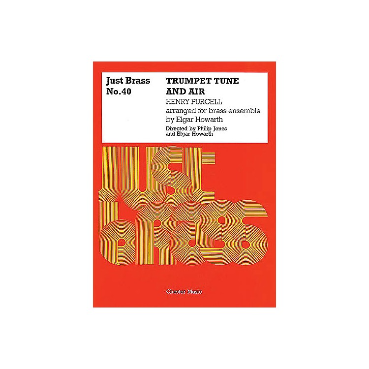 NovelloTrumpet Tune and Air Music Sales America Series by Henry Purcell Edited by Philip Jones