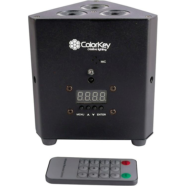 ColorKeyTrussPar QUAD 3 RGBW LED PAR Uplight Wash Light, Black