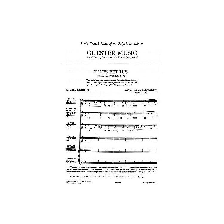 Chester MusicTu es Petrus SSATBB Composed by Giovanni Palestrina