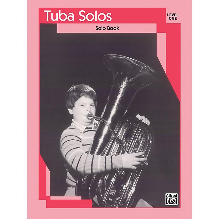 AlfredTuba Solos Level I Solo Book