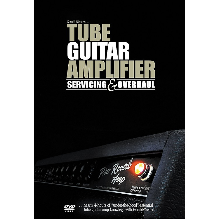 Kendrick Tube Guitar Amplifier Servicing and Overhaul (DVD)