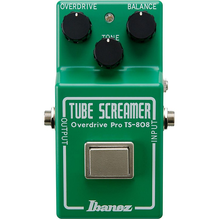 ibanez tube screamer pro ts808 35th anniversary deluxe overdrive guitar effects pedal music123. Black Bedroom Furniture Sets. Home Design Ideas