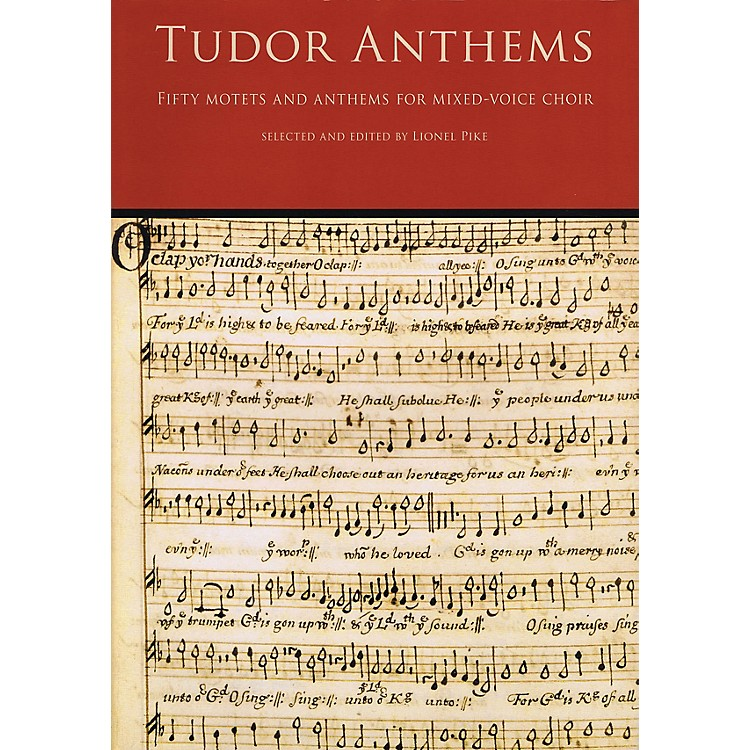 NovelloTudor Anthems (50 Motets and Anthems for Mixed Voice Choir) SATB Composed by Various