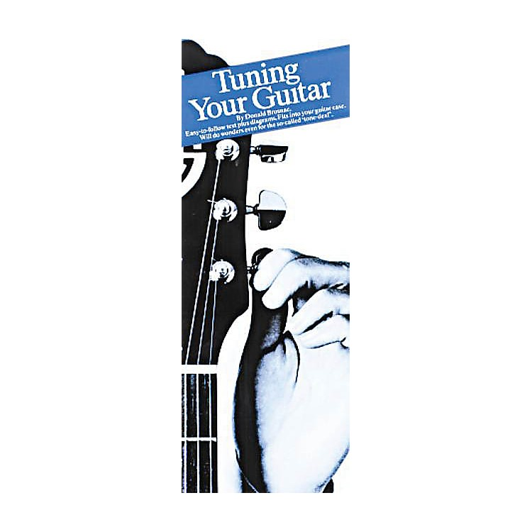 Music SalesTuning Your Guitar (Compact Reference Library) Music Sales America Series Softcover by Donald Brosnac