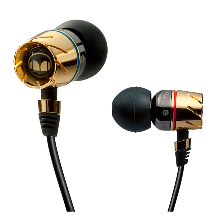 Monster Turbine Pro Gold Audiophile In-Ear Speakers