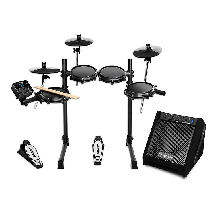 AlesisTurbo Mesh Electronic Drum Kit with Simmons DA25 Monitor