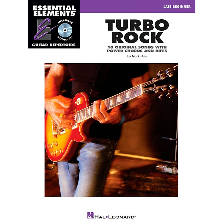 Hal LeonardTurbo Rock - Eary Intermediate Essential Elements Guitar Repertoire Book/CD