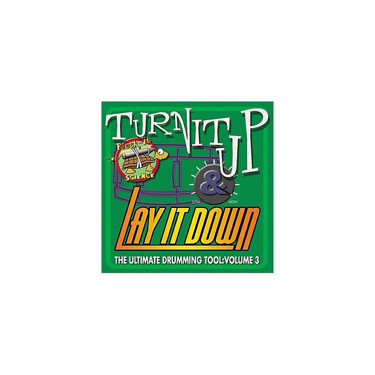 RhythmTechTurn It Up Lay It Down Volume 3 Rock It Science (CD)