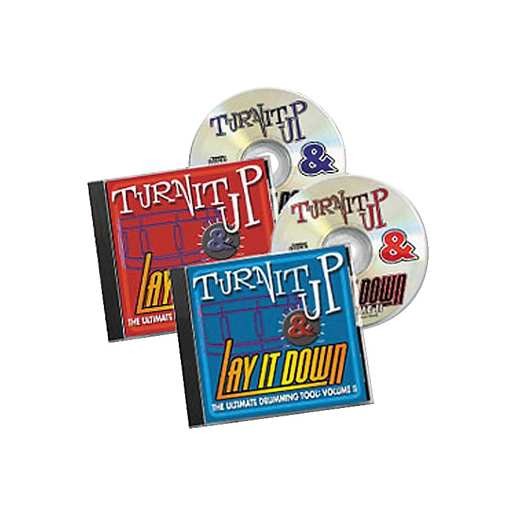 RhythmTech Turn It Up and Lay It Down Vols. 1 and 2 (CD)