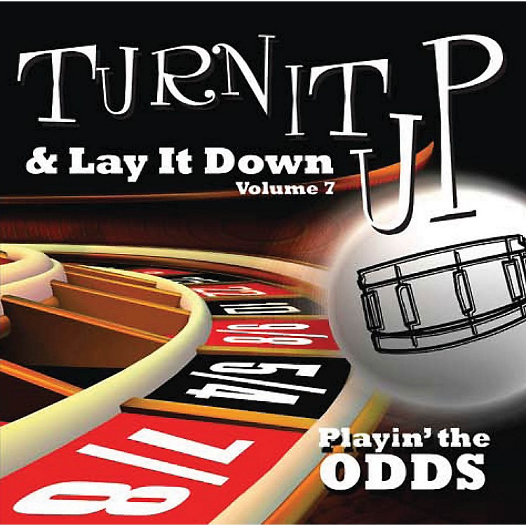 Drum Fun IncTurn It Up and Lay It Down, Volume 7 Playin' The Odds Play Along CD for Drummers