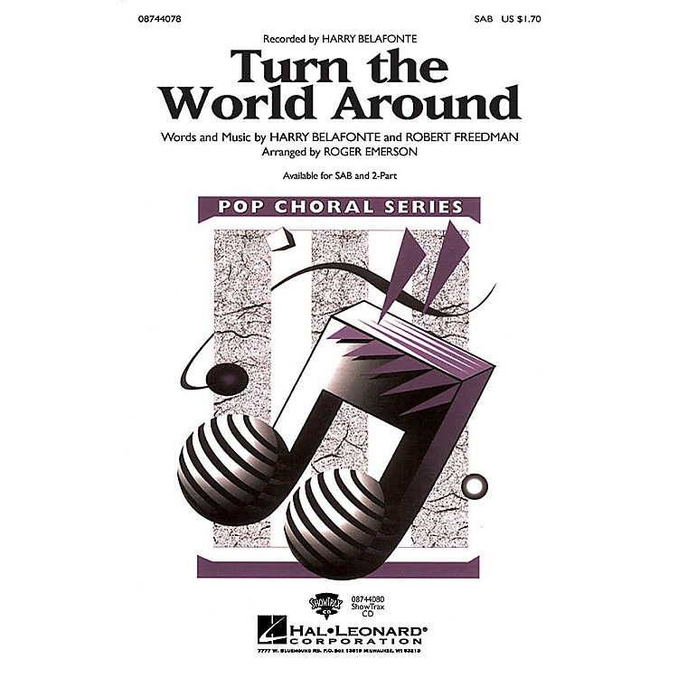 Hal Leonard Turn the World Around ShowTrax CD