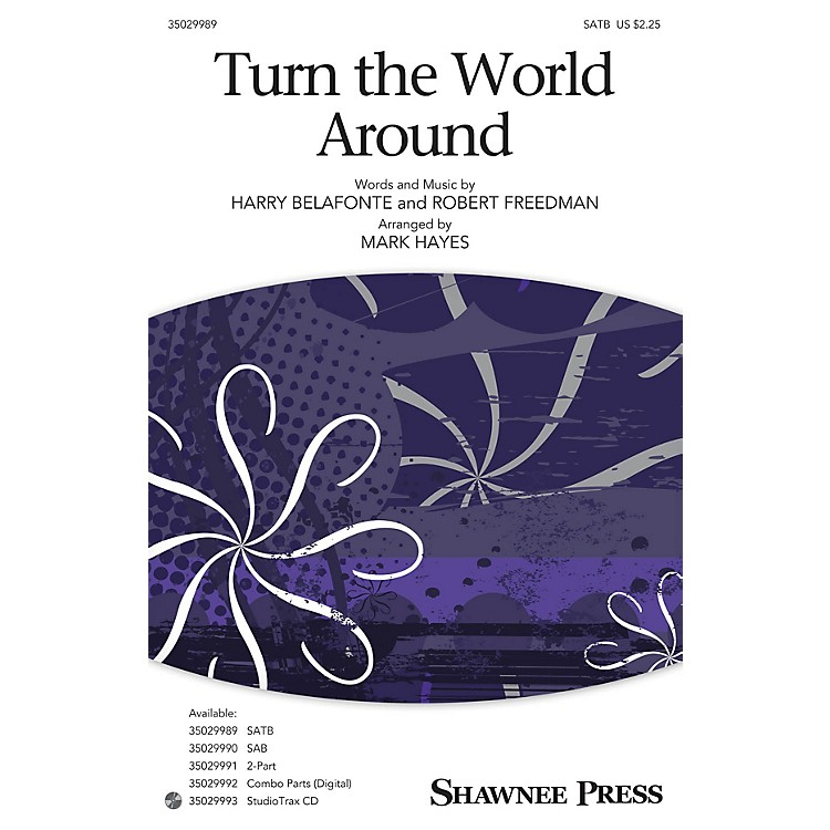 Shawnee Press Turn the World Around Studiotrax CD Arranged by Mark Hayes