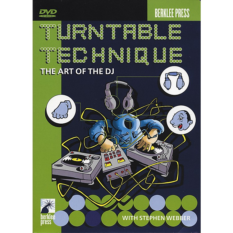 Berklee Press Turntable Technique The Art of The DJ DVD