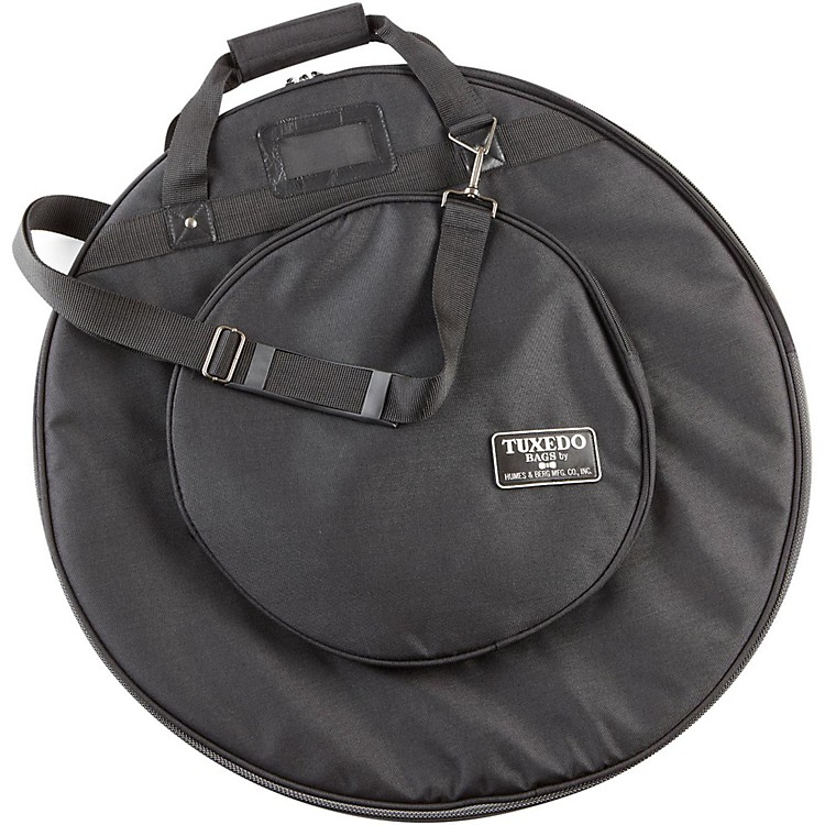 Humes & BergTuxedo Cymbal Bag with Shoulder StrapBlack22 in.