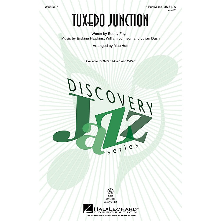 Hal LeonardTuxedo Junction (Discovery Level 2) VoiceTrax CD by Manhattan Transfer Arranged by Mac Huff