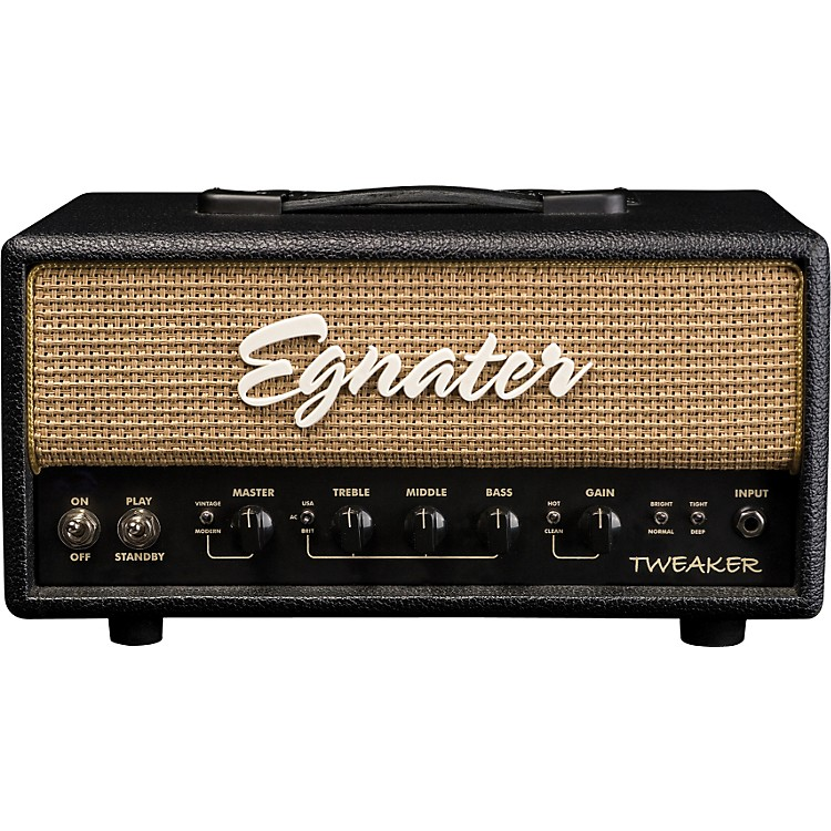 Egnater Tweaker 15 W Tube Guitar Amp Head Black, Beige