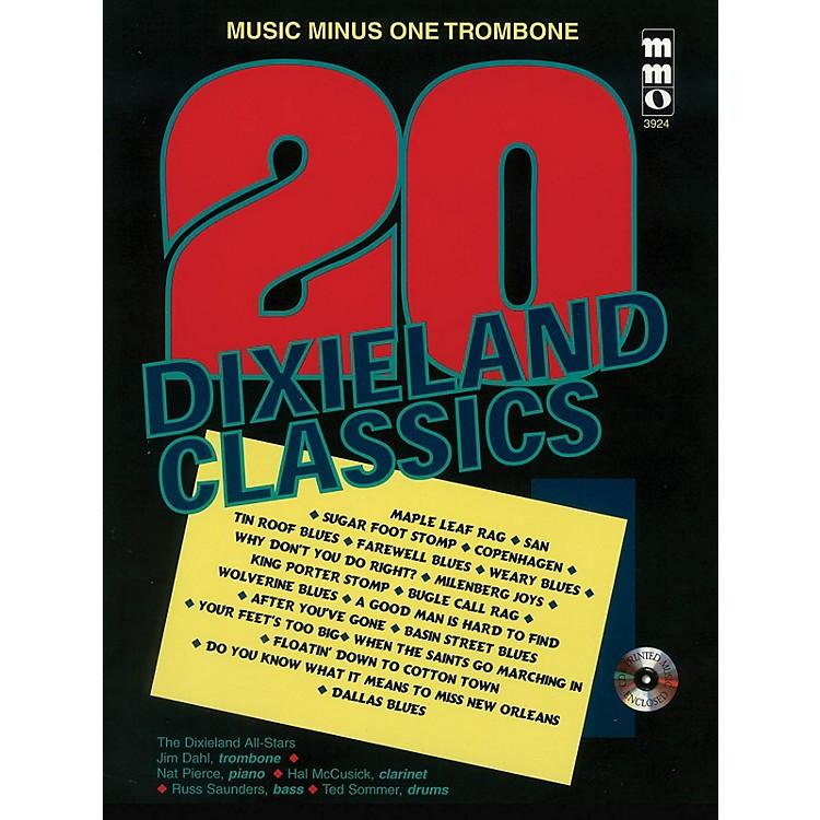 Music Minus OneTwenty Dixieland Classics (Music Minus One Trombone) Music Minus One Series Softcover with CD