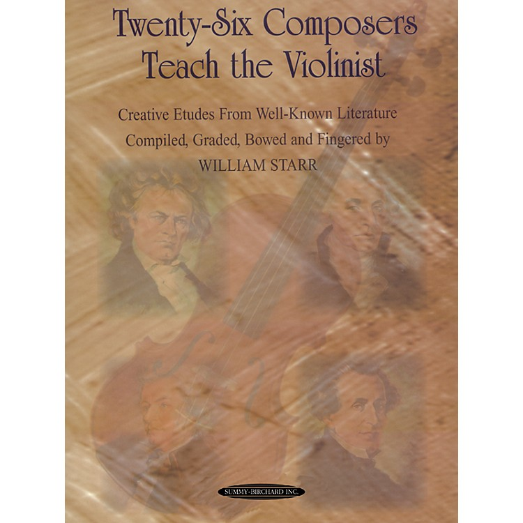 Alfred Twenty-Six Composers Teach the Violinist (Book)