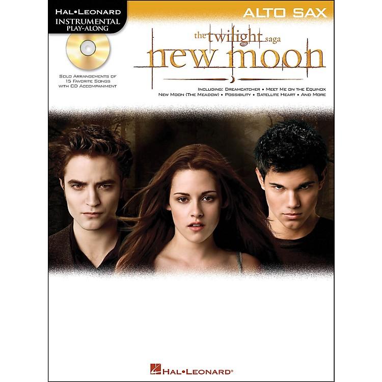 Hal LeonardTwilight: New Moon for Alto Sax - Instrumental Play-Along CD/Pkg