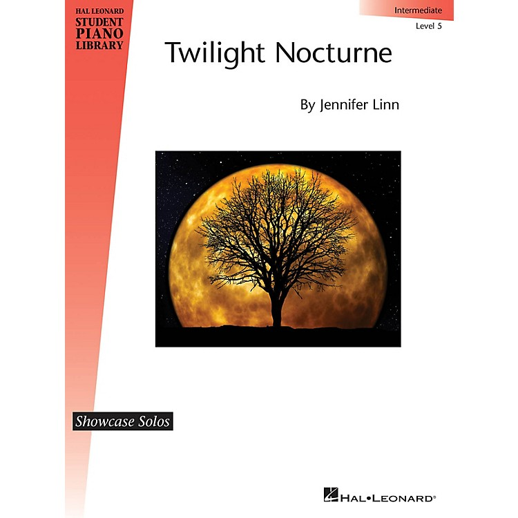 Hal Leonard Twilight Nocturne Educational Piano Library Series Softcover Composed by Jennifer Linn