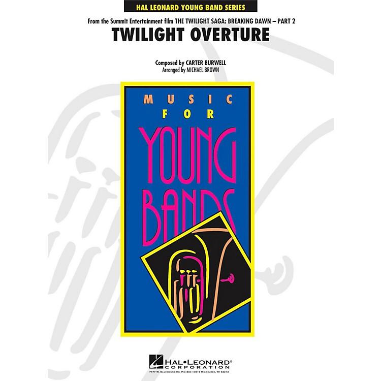 Hal LeonardTwilight Overture (From The Twilight Saga: Breaking Dawn - Part 2) Level 3
