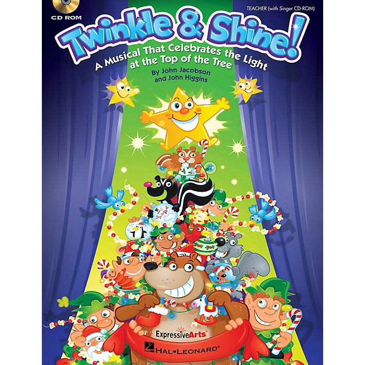 Hal Leonard Twinkle & Shine Performance/Accompaniment CD Composed by John Jacobson