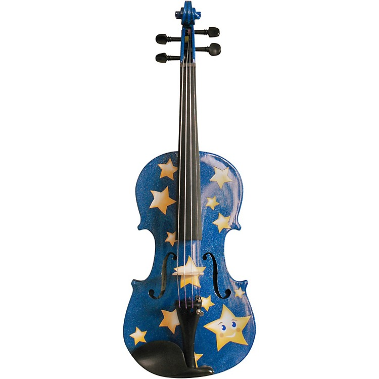 Rozanna's ViolinsTwinkle Star Blue Glitter Series Violin Outfit4/4