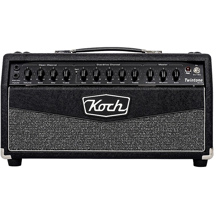 KochTwintone III 50W Tube Guitar Amp HeadBlack