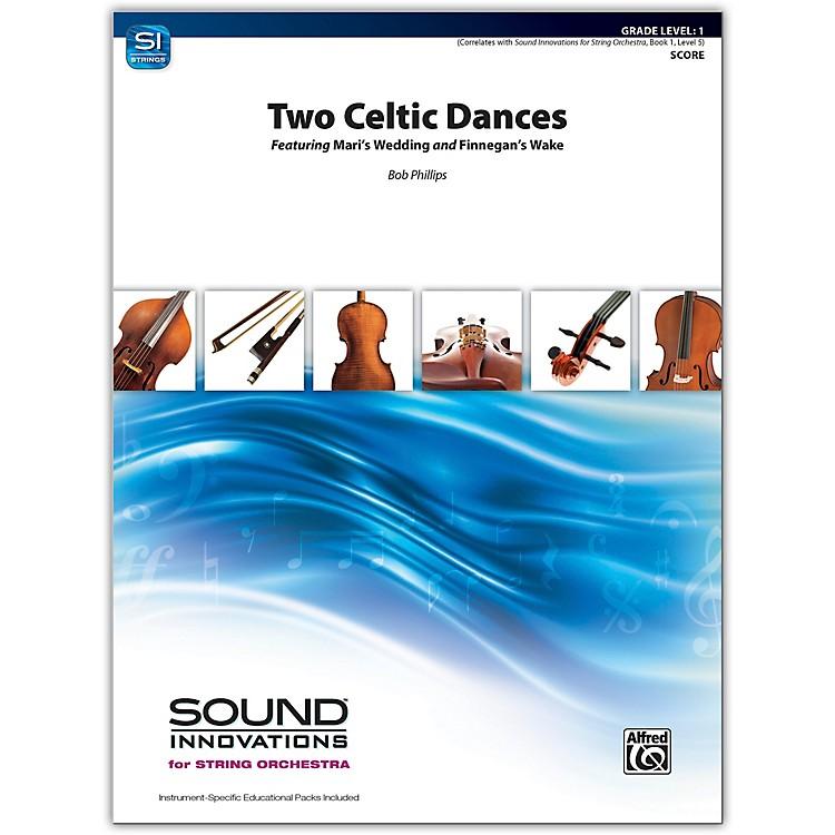 AlfredTwo Celtic Dances Conductor Score 1
