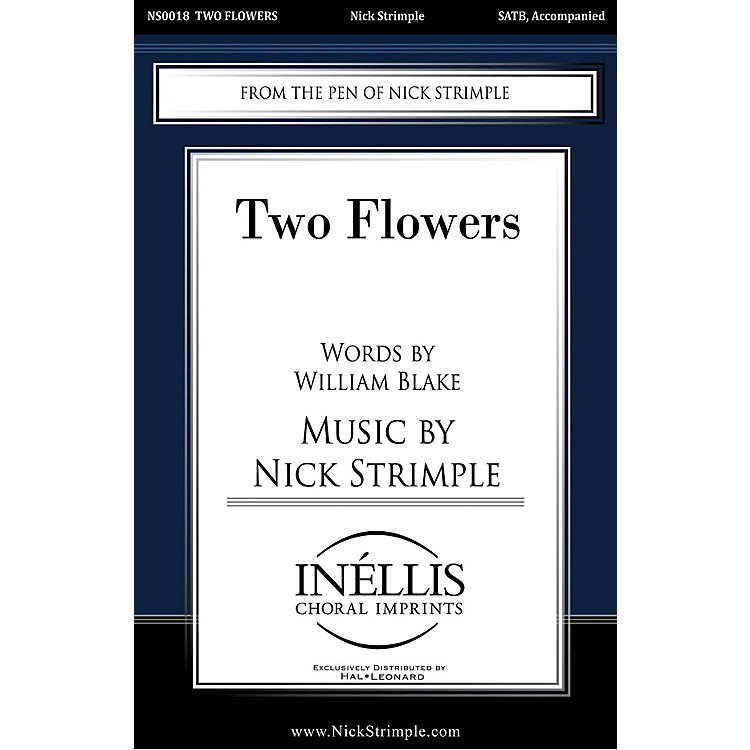 Pavane Two Flowers SATB composed by Nick Strimple