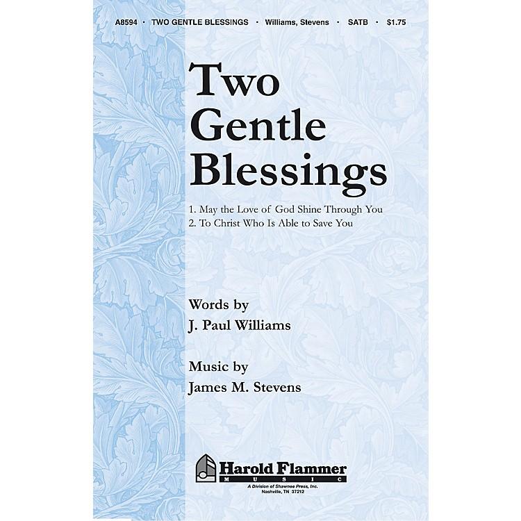 Shawnee PressTwo Gentle Blessings SATB composed by J. Paul Williams
