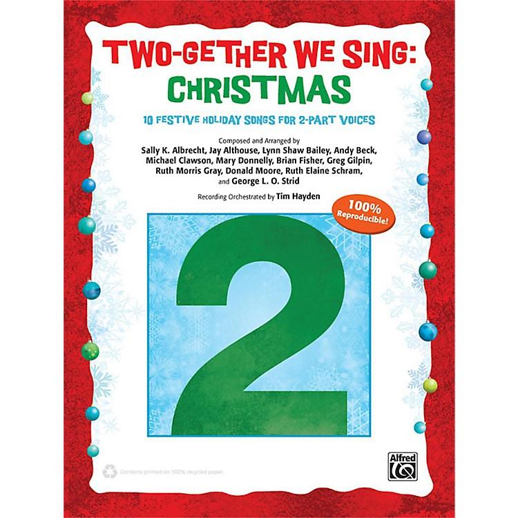 AlfredTwo-Gether We Sing: Christmas CD Kit Book & Enhanced CD