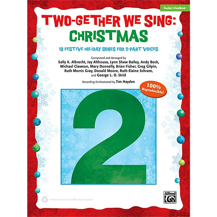 Alfred Two-Gether We Sing: Christmas Enhanced CD