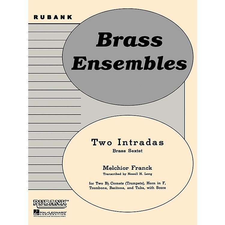 Rubank PublicationsTwo Intradas (Brass Sextet or Choir - Grade 2) Rubank Solo/Ensemble Sheet Series