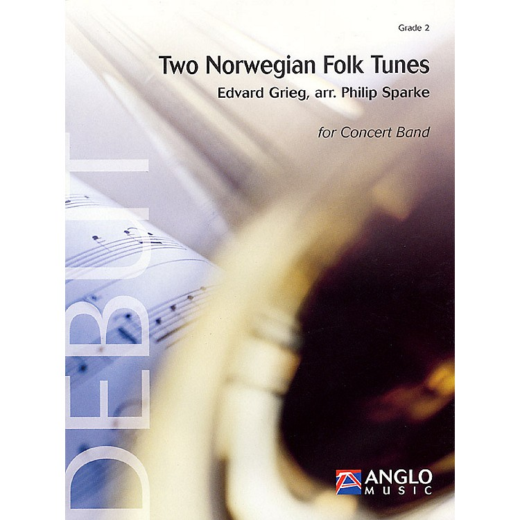 Anglo Music PressTwo Norwegian Folk Tunes (Grade 2 - Score Only) Concert Band Level 2 Arranged by Philip Sparke