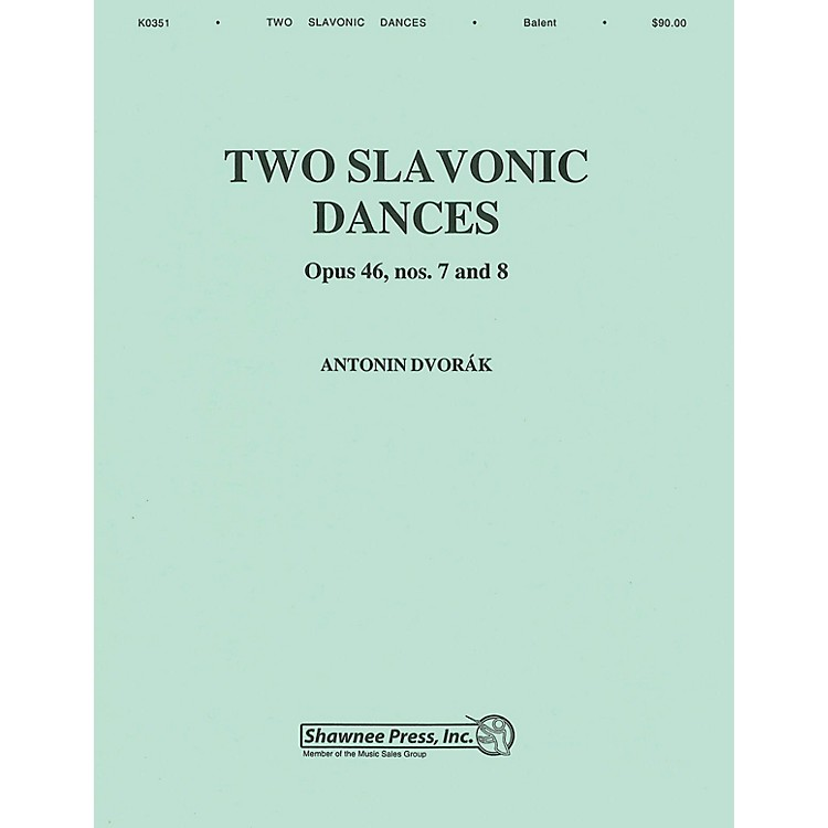 Hal LeonardTwo Slavonic Dances Concert Band Level 3 Arranged by Andrew Balent