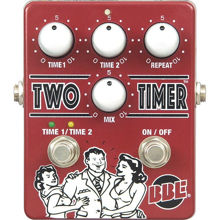 BBE Two Timer Delay Guitar Effects Pedal